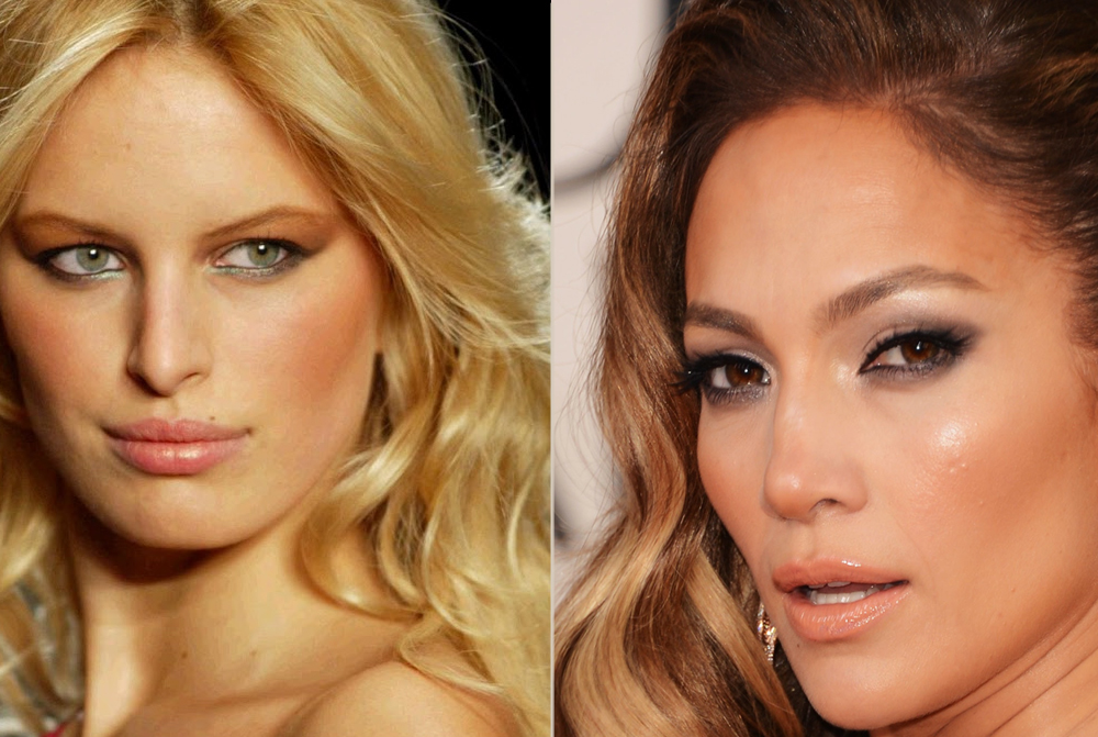 How to get a celebrity makeup look - tan