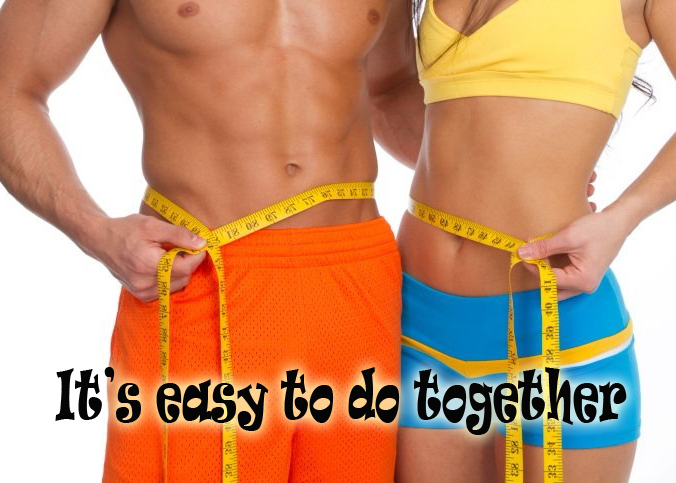 Motivating Yourself to Lose Weight  lose weight as a couple