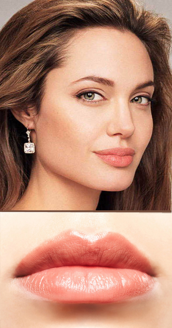 Secrets-of-Glam-Celebrities-Makeup-Look--how-to-get-Angelina-Jolie-full-and-plump-lips 1