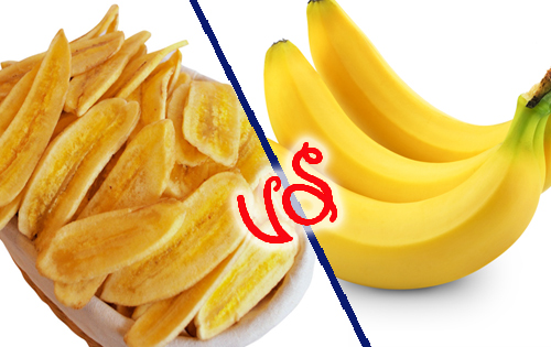 Snacks-To-Avoid-When-Trying-To-Lose-Weight-banana-chips-fresh-banana