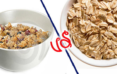 Snacks-To-Avoid-When-Trying-To-Lose-Weight-granola-instant-oats