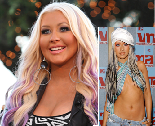 Celebrities'-Yo-Yo-Weight-Loss-Stories-Christina-Aguilera