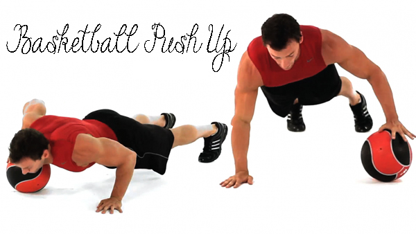Exercise-To-Tone-Up-Arms--Basketball-Push-Up