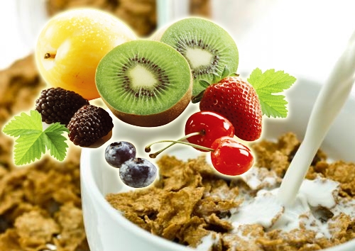 Healthy-Snacks-For-Kids-Whole-Grain-Fruit-Cereal-Breakfast