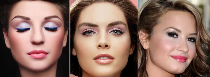 Make-Up-Tips-For-A-Beach-Wedding-pastel-color-makeup