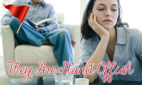 Red-Flag-Your-Partner-Is-Cheating-On-You-Stand-Offish
