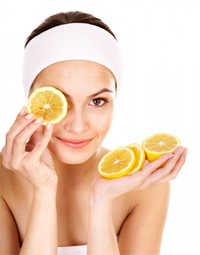 Skin-Care-Natural-Glow--Oily-Skin-lemon-mask