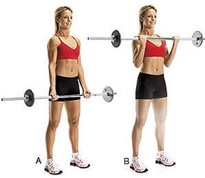 Tone-Up-Arms-Sandwich-Technique-Barbell-Curl