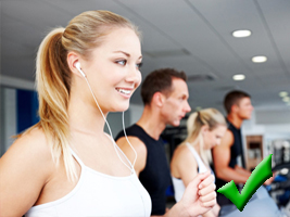 Get-The-Most-Out-Of-The-Gym-headphones-on