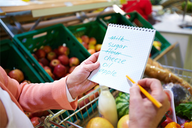 Shop-For-Healthy-Food-have-shopping-list