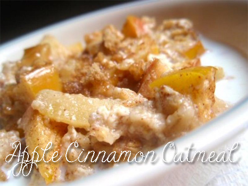 healthy-recipes-AppleВ CinnamonВ Oatmeal