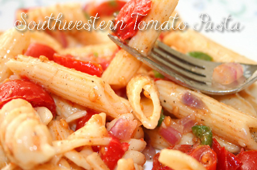 healthy-recipes-Southwestern Tomato Pasta