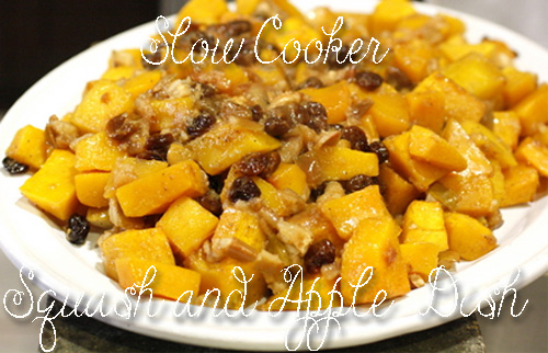healthy-recipes-slow-cooker-squash-and-apple-dish
