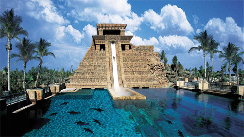 Best-Water-Parks-In-The-World-Aquaventure-Waterpark-Dubai,-UAE