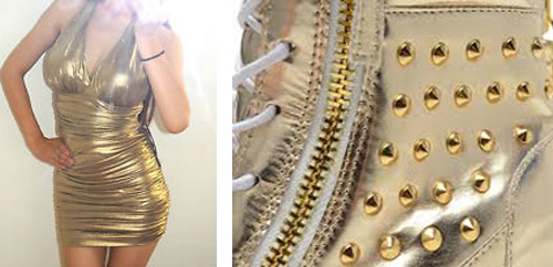Gold-Rules-For-Golden-Autumn-dress-boots