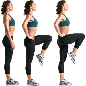 High-Intensity-At-Home-Cardio-Workout-High-Knee-Raises